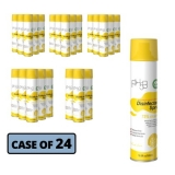 Lemon Disinfectant Spray, 75% Alcohol, 16.9oz, 24/CT