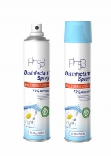 Chamomile Disinfectant Spray, 75 Percent Alcohol, 16.9oz, 24/CT