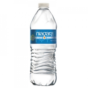 Purified Drinking Water, 16.9 oz Bottle, 24/Pack