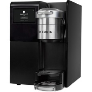 Keurig K-3500 Commercial Coffee Maker with 8-count Premium Merchandiser